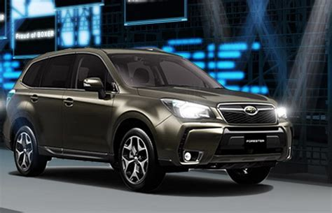 subaru forester concept 2013 subaru forester sport concept review top speed