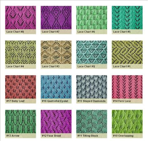 different knitting stitches 50 best images about points tricot on lace
