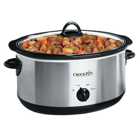crock pot 174 manual slow cooker in silver at crock pot com