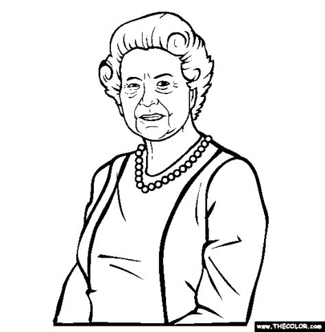coloring pages of the queen famous people online coloring pages page 1