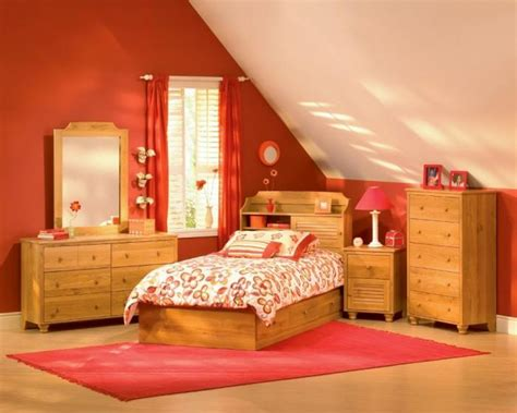 girls red bedroom ideas 15 interesting kid s attic bedroom ideas rilane