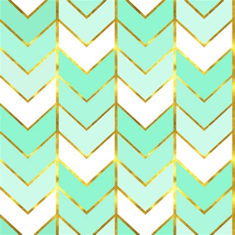 ombre design gilded ombre herringbone in mint wallpaper
