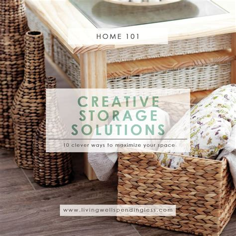 top 10 creative storage solutions for your stuff creative storage solutions how to find more room for