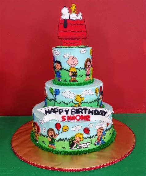 Kuchen Torte by Yochana S Cake Delight Snoopy Cake For