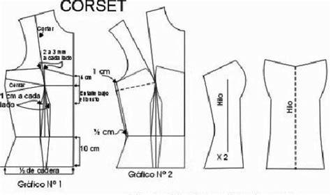 cachetero de mujer paso a paso moldes gratis corset gt gt patrones gratis vestido de quince patrones