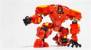 Lego ideas iron man hulkbuster mech suit