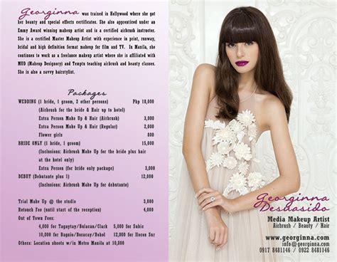 layout artist rates philippines wedding makeup artist philippines rates mugeek vidalondon