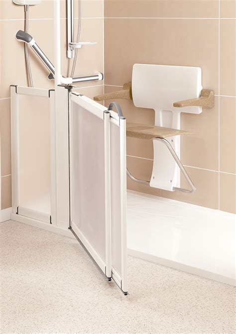 bathroom seating slimfold shower seat stylish shower seating practical