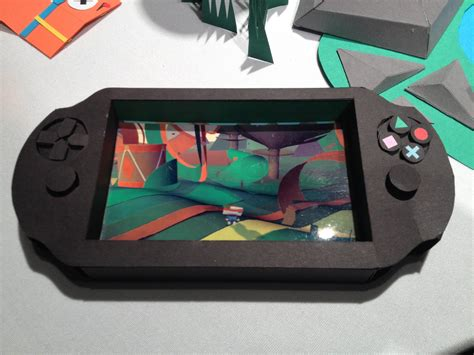 Playstation Papercraft - tearaway preview ps vita