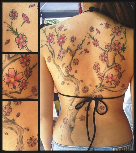 Tatuagem Feminina Flores Ideias E Dicas Blossom Tree Back