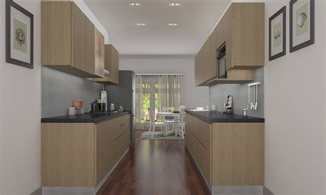 parallel kitchen ideas modern parallel style kitchen design ideas