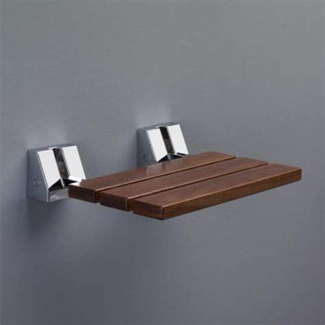 sgabello doccia sgabello sedile doccia ribaltabile 34x40xh11 cm in acciaio