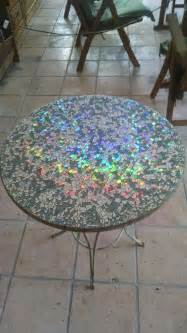 tisch mosaik 20 brilliant diy ideas how to recycle your cds the