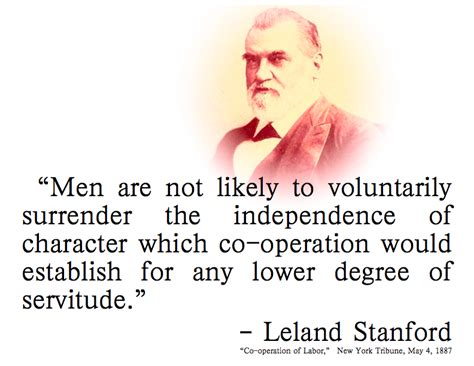 leland stanford the of a railroad tycoon books leland stanford quotes quotesgram