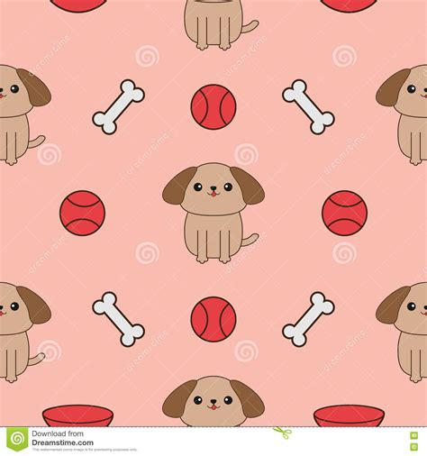 cute cartoon pattern cartoon dog bone pattern www pixshark com images