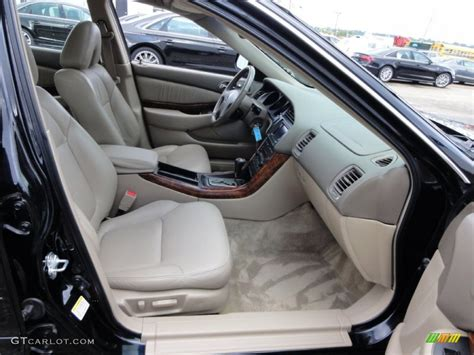 parchment interior 2002 acura tl 3 2 type s photo