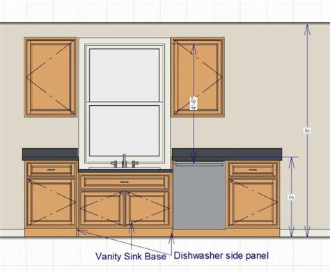 kitchen sink window size kitchen sink window lower than countertop finish