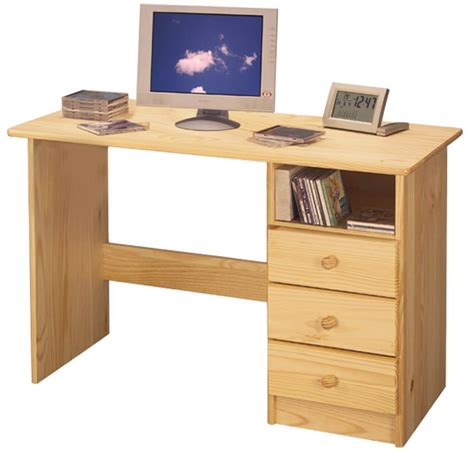 Computer Desk For Kids Natural Wood Student Desk Drawers Student Desk With Drawers