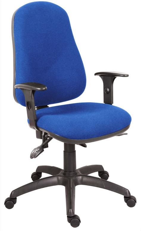 comfort items teknik ergo comfort blue arms pc chairs