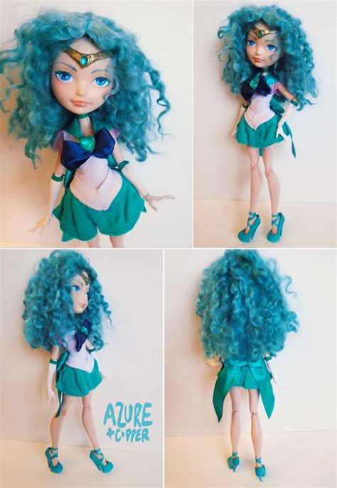 haunted doll sailor azure and copper crafts custom dolls and accessories