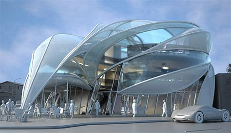 architectures decorating great architecture futuristic modern architecture futuristic sci fi building in l a