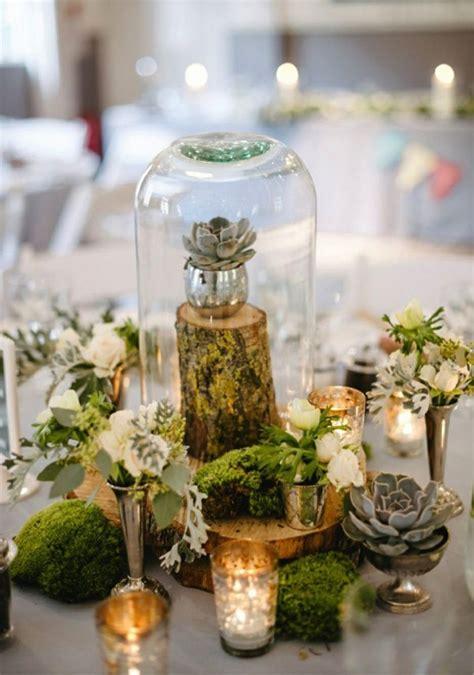 Tischdekoration Hochzeit Holz by Tischdeko Mit Holz Kreative Ideen F 252 R Rustikalen Und