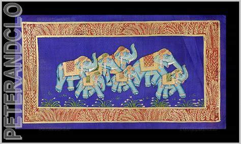 Peinture Sur Tissu Mural by Batik Tenture Murale Peinture Sur Soie Moghole