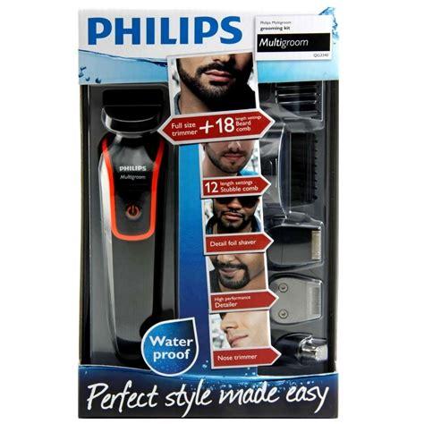 aparador wahl ou philips barbeador el 233 trico aparador de pelos multigroom philips