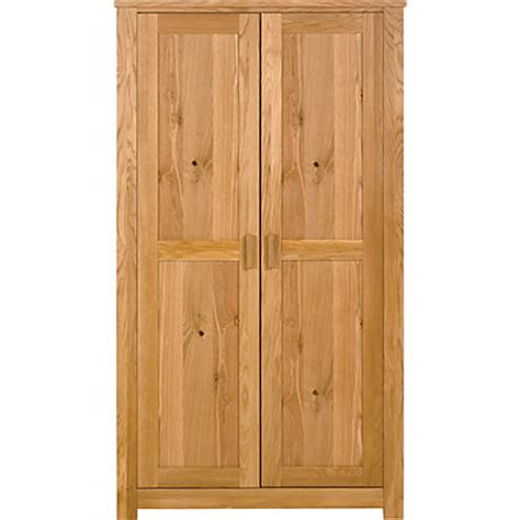 homebase bedroom furniture wardrobes schreiber constable double wardrobe oak at homebase