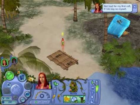 sims r city stories the sims castaway stories walkthrough part 4 youtube
