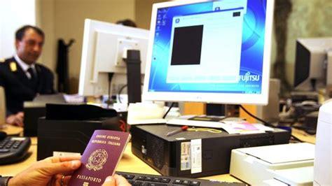 ufficio passaporti verona passaporti novit 224 per l agenda home bresciaoggi