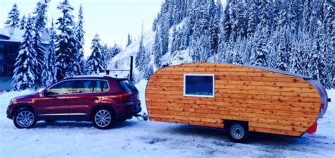 Homegrown Handcrafted Travel Trailers w/ Solar Power
