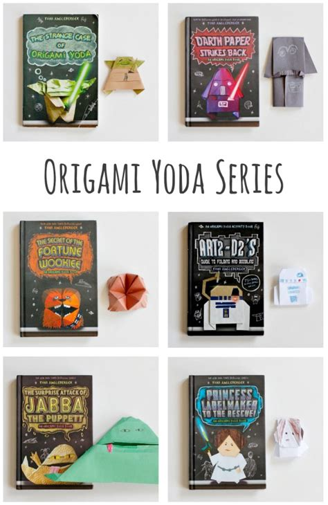 Tom Angleberger Origami Yoda Series - book review the origami yoda series make and takes