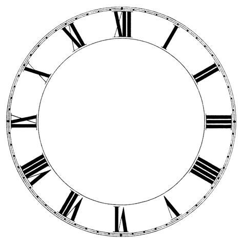 printable clock face roman numerals clock face graphics roman numeral clock graphics old