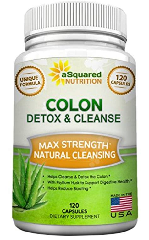 Detox For Less Review by Colon Cleanse For Weight Loss 120 Capsules Max