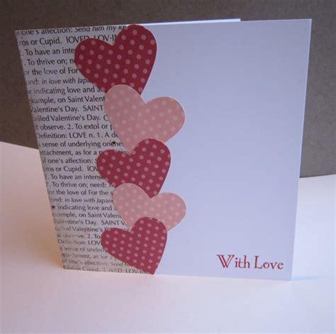 Handmade Valentines For - handmade s card