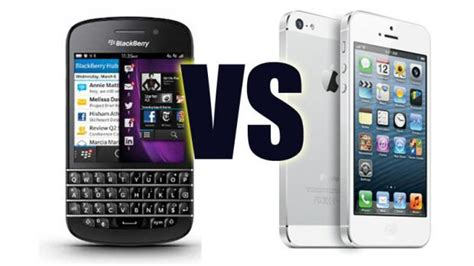 blackberry q10 vs iphone 5 your mobile