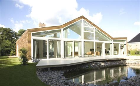 modern design villa hendrikx netherlands ultra modern