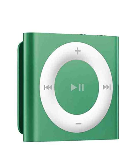 ipod shuffle best buy buy apple ipod shuffle 2gb green at best price in