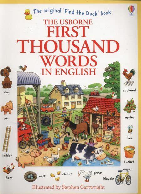 first thousand words in first thousand words in english ambelucja pl książki dla dzieci
