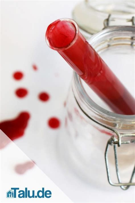 Kunstblut Selber Machen Ohne Lebensmittelfarbe by Diy Kunstblut Selber Machen In 10 Minuten Hergestellt