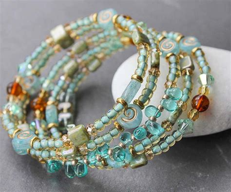 Make Handmade Jewelry - 25 best ideas about memory wire bracelets on