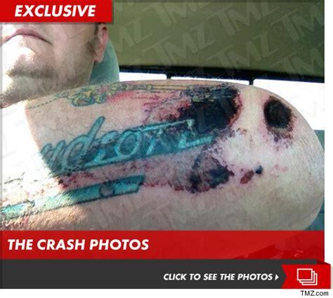 tattoo kit pawn stars pawn stars corey harrison bloody motorcycle wreck