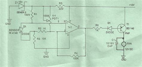 1n4148 diode schematic op using 1n4148 as a temperature sensor electrical engineering stack exchange