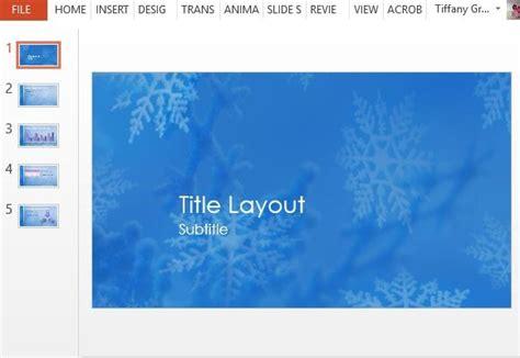 Schneeflocken Weihnachten Powerpoint Vorlage Microsoft Powerpoint Templates Snowflakes