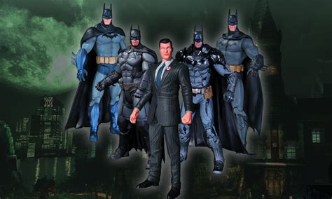 arkham figure 5 pack the caped crusader returns to arkham in more ways than one