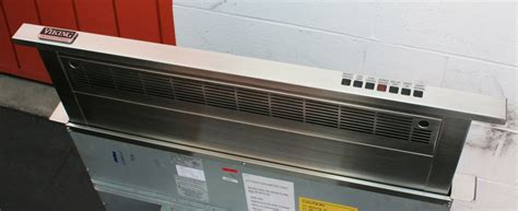 fan with ac built in viking downdraft ventilation system demonstration
