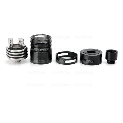 authentic wotofo sapor rda v2 22mm black rebuildable atomizer