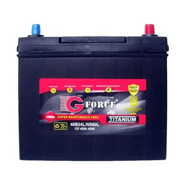 Jual Alarm Mobil G Forces jual g ns60l mf titanium aki mobil harga kualitas terjamin blibli