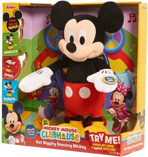 diggity mickey mickey mouse clubhouse plush shop collectibles daily